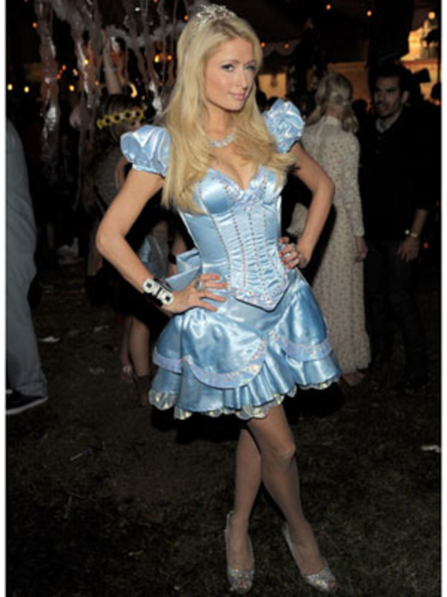 Paris Hilton as Cinderella
