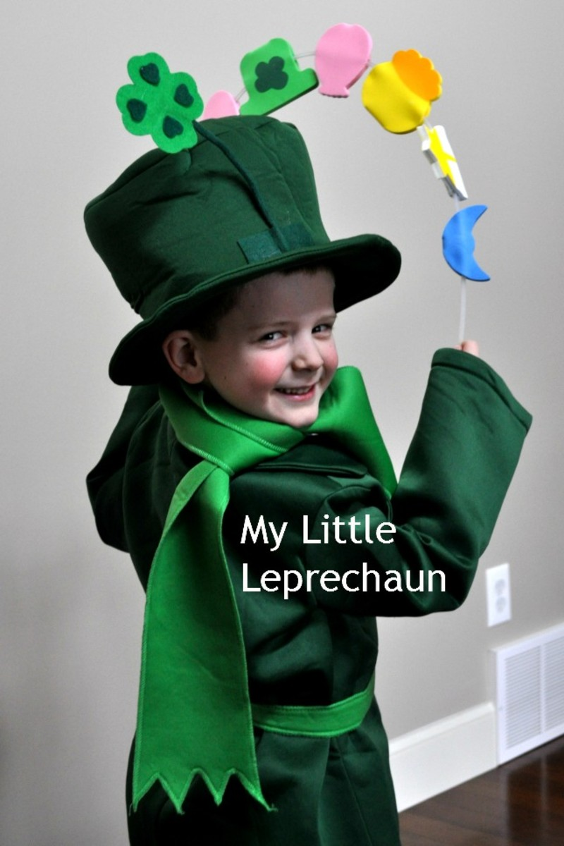 My Little Leprechaun on TodaysMama #LuckyCharms