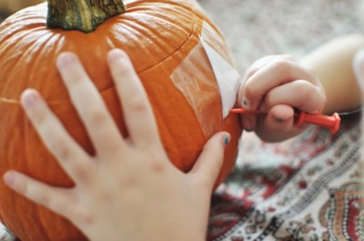 pumpkin carving for kids