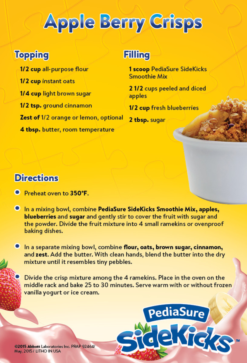 Apple Berry Crisps Recipe