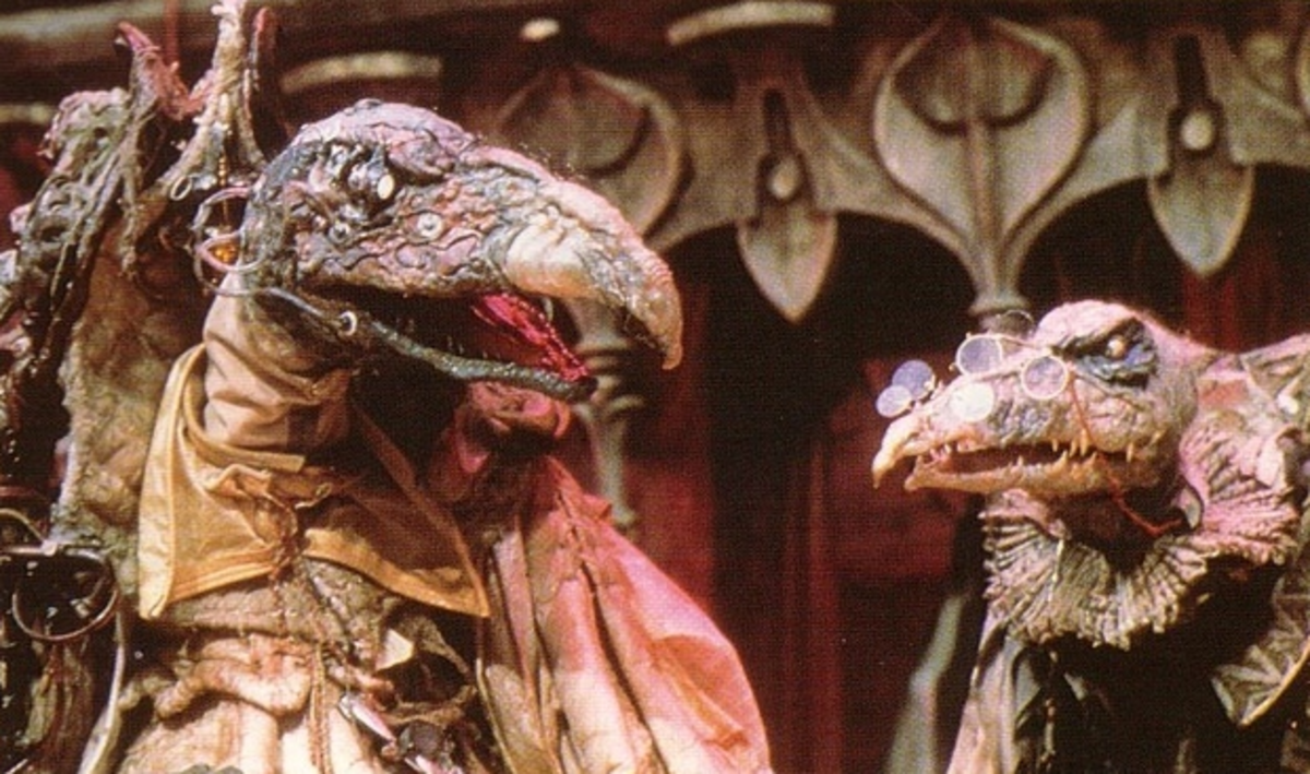 Skeksis from the Dark Crystal