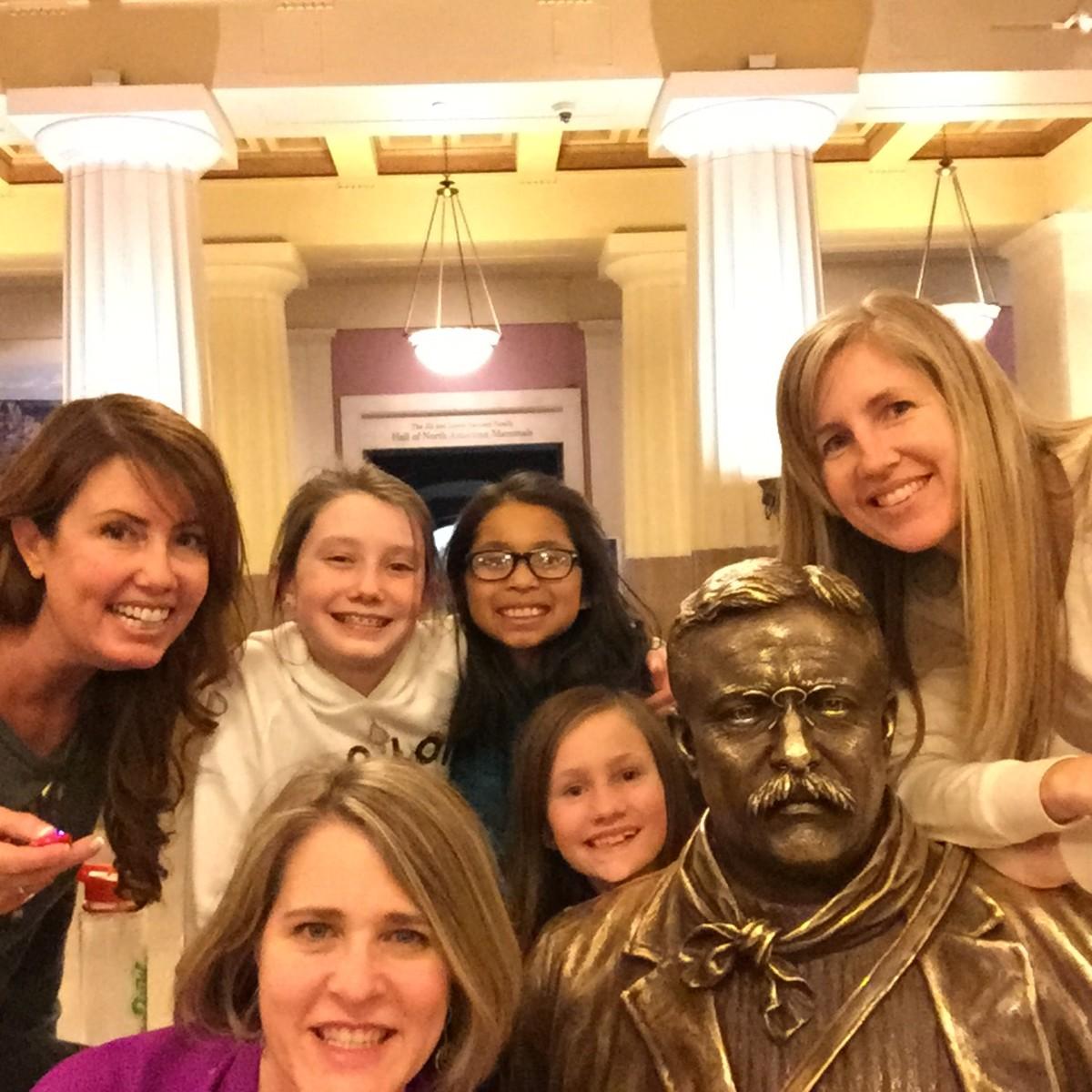 Selfie Stick and Teddy Roosevelt