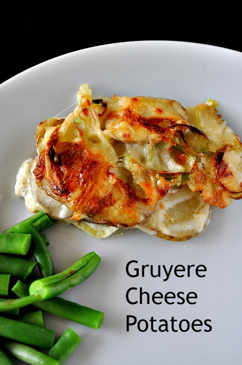 Easter Brunch - Gruyere Cheese Potatoes on TodaysMama.com #easter #brunch #cheese