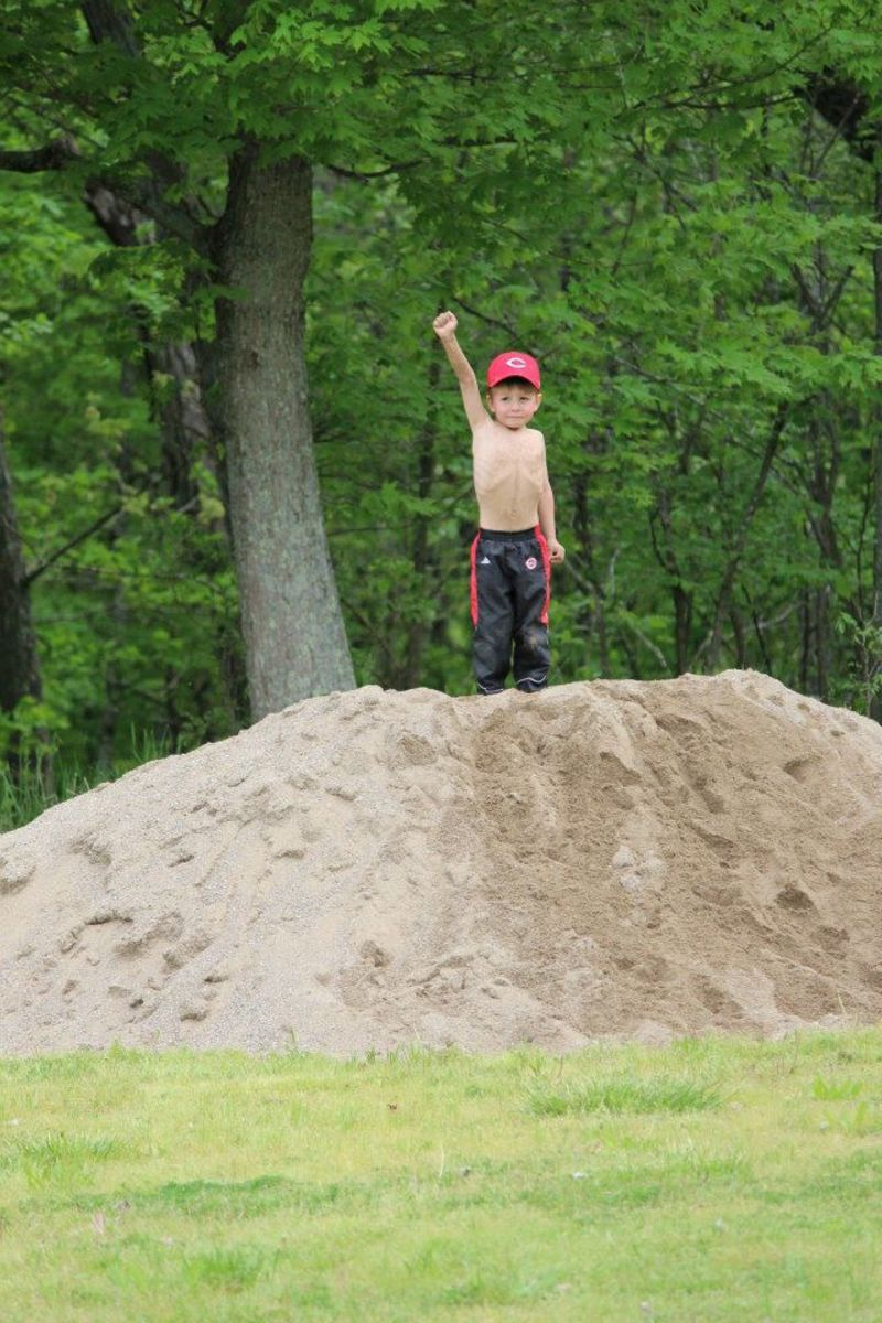 king of the dirt hill