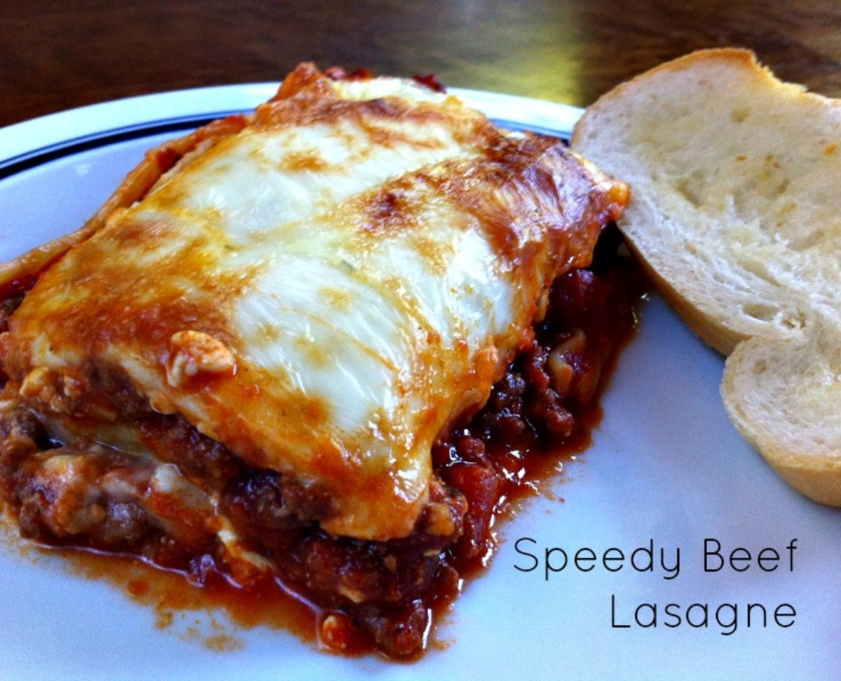 Speedy Beef Lasagne Recipe