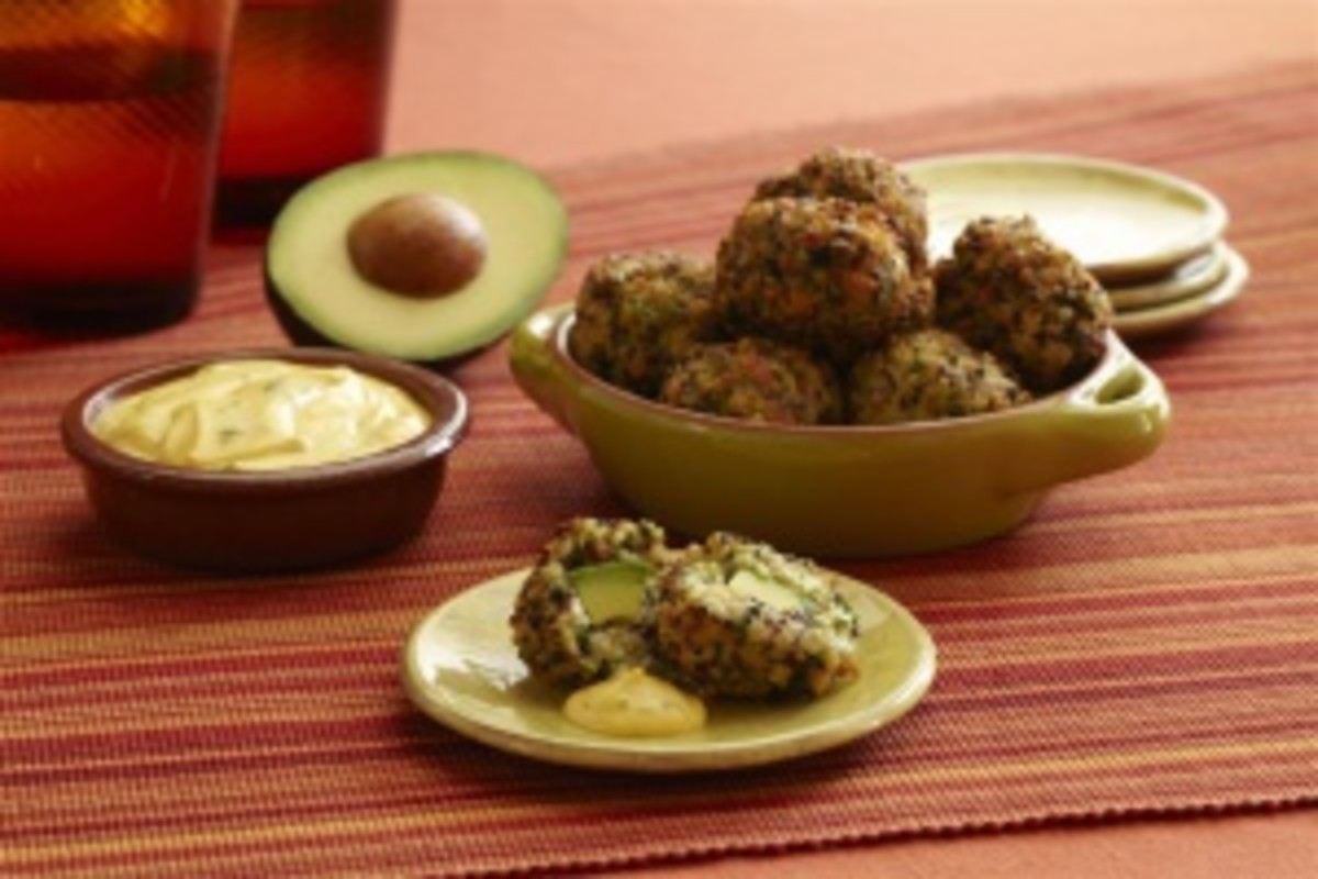 California Avocado Fritters Appetizer