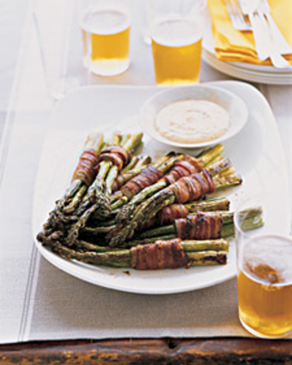 Bacon wrapped Asparagus from Martha Stewart