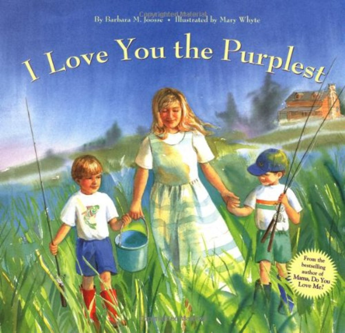 Books for Mothers I Love You the Purplest