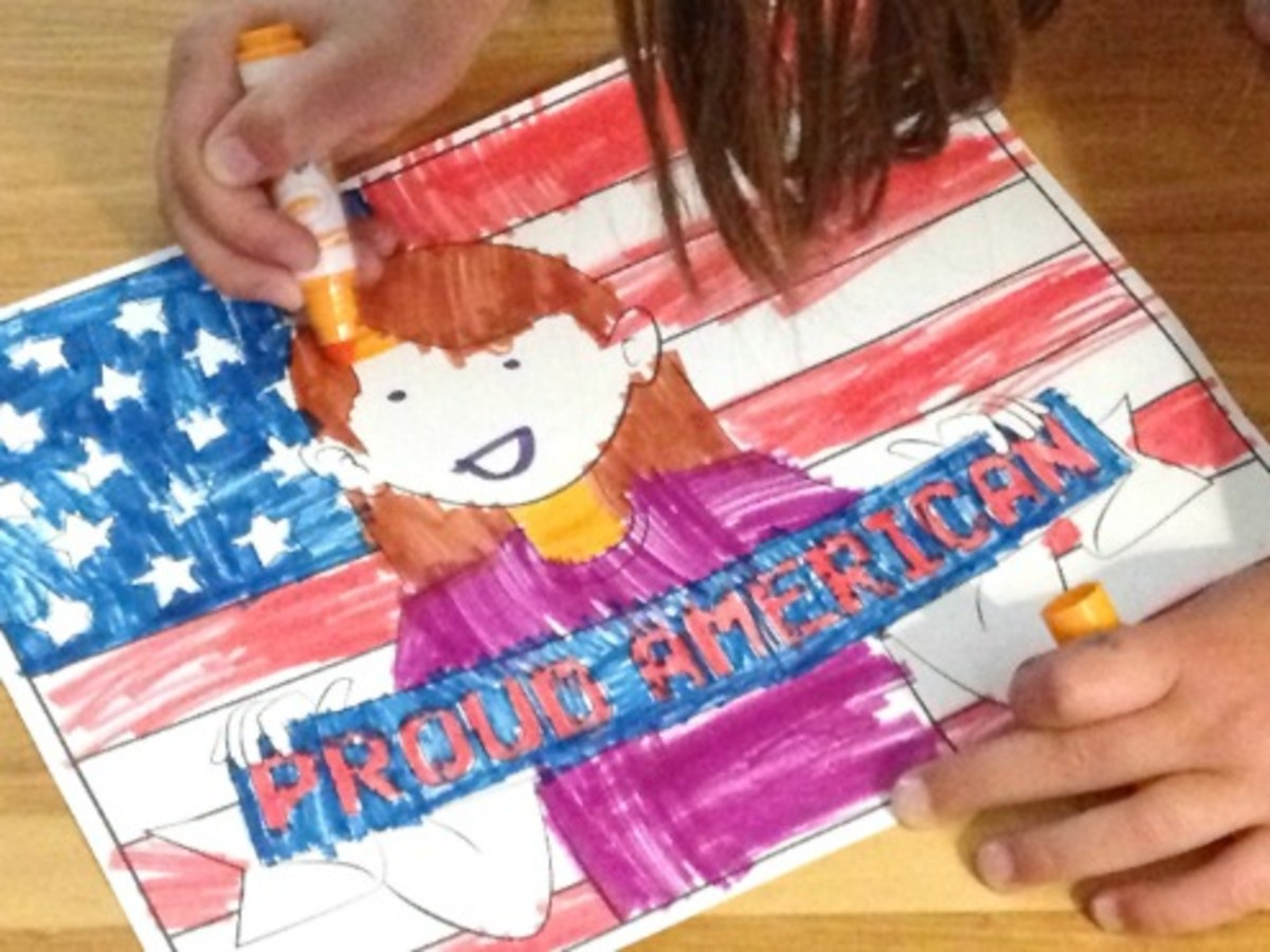 July 4th Coloring Pages Preview