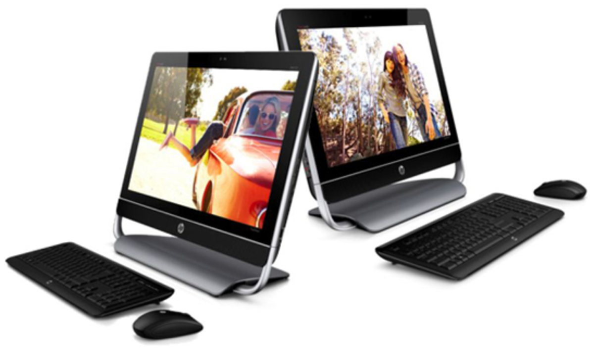 HP Pavilion TouchSmart All-in-One PC