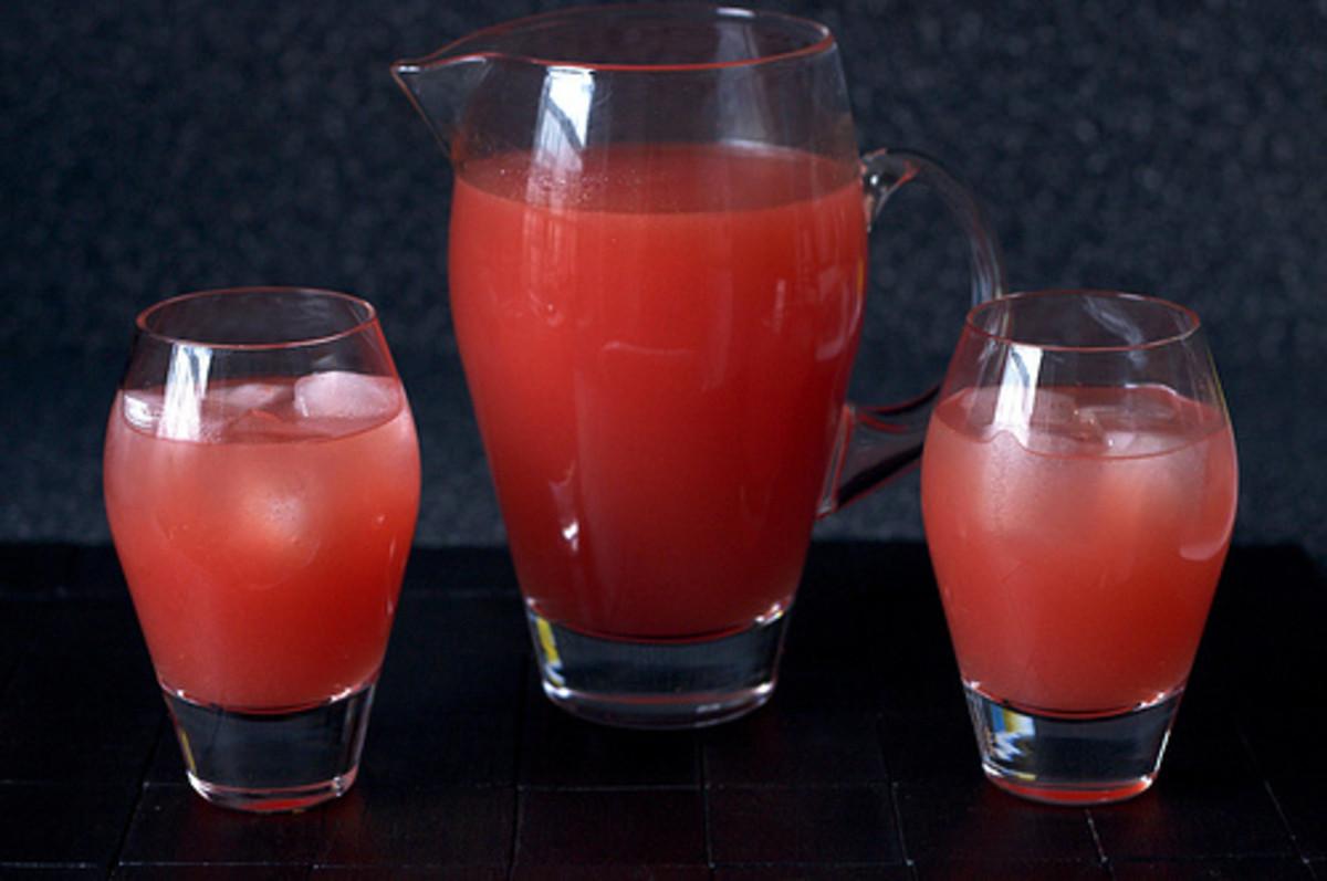 Watermelon Lemonade by Smitten Kitchen