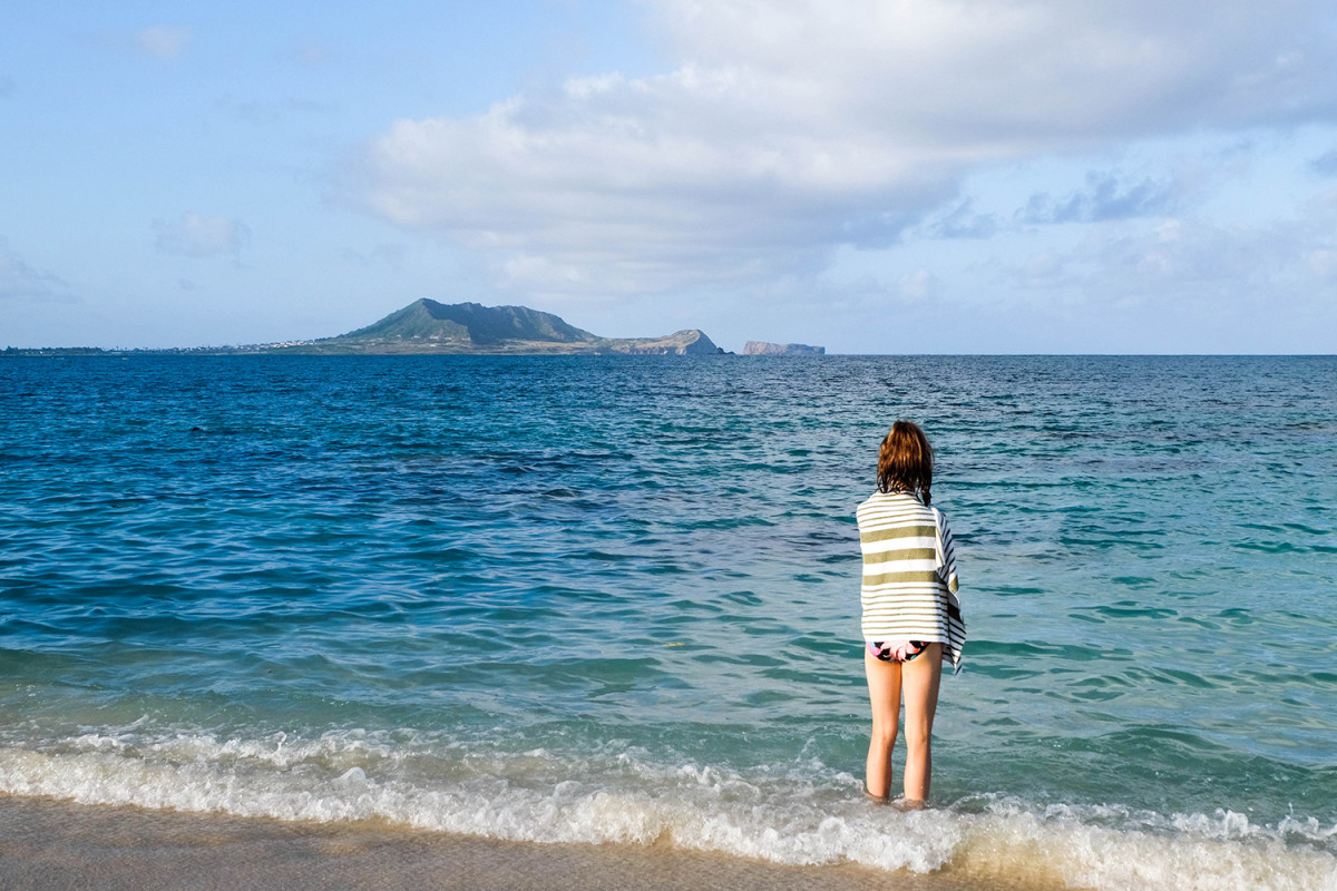 A beach vacation in Hawaii will be enjoyed by teens. (Photo: Michelle Rae Uy)