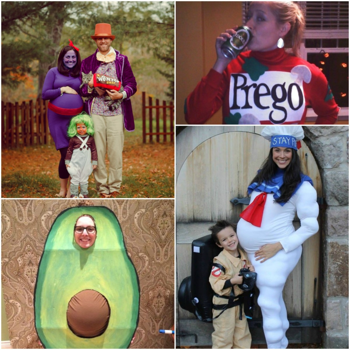 26 Awesome Pregnant Halloween Costumes
