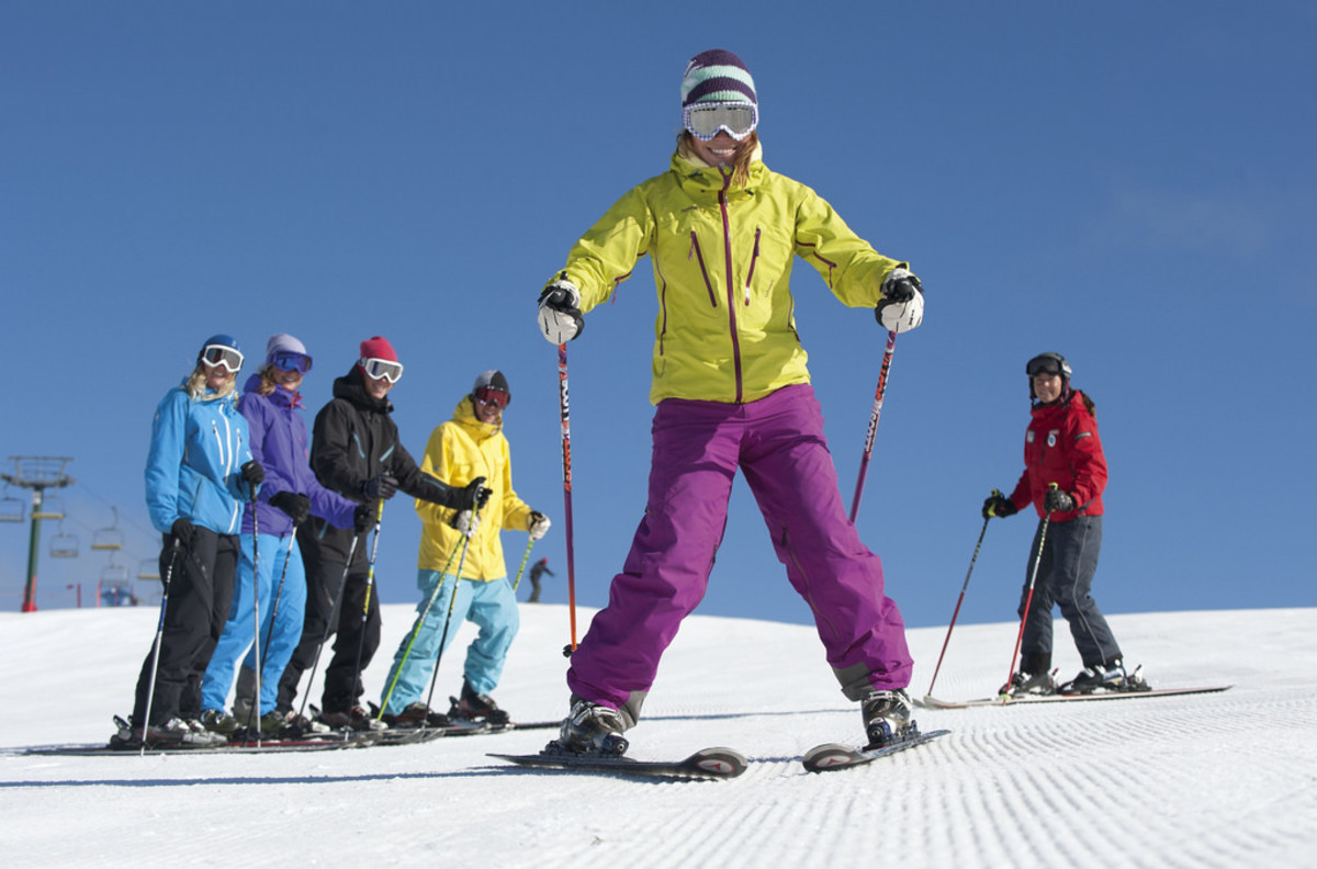 A ski vacation is a fantastic option for a family vacation with teens. (Flickr: Roderick Eime)