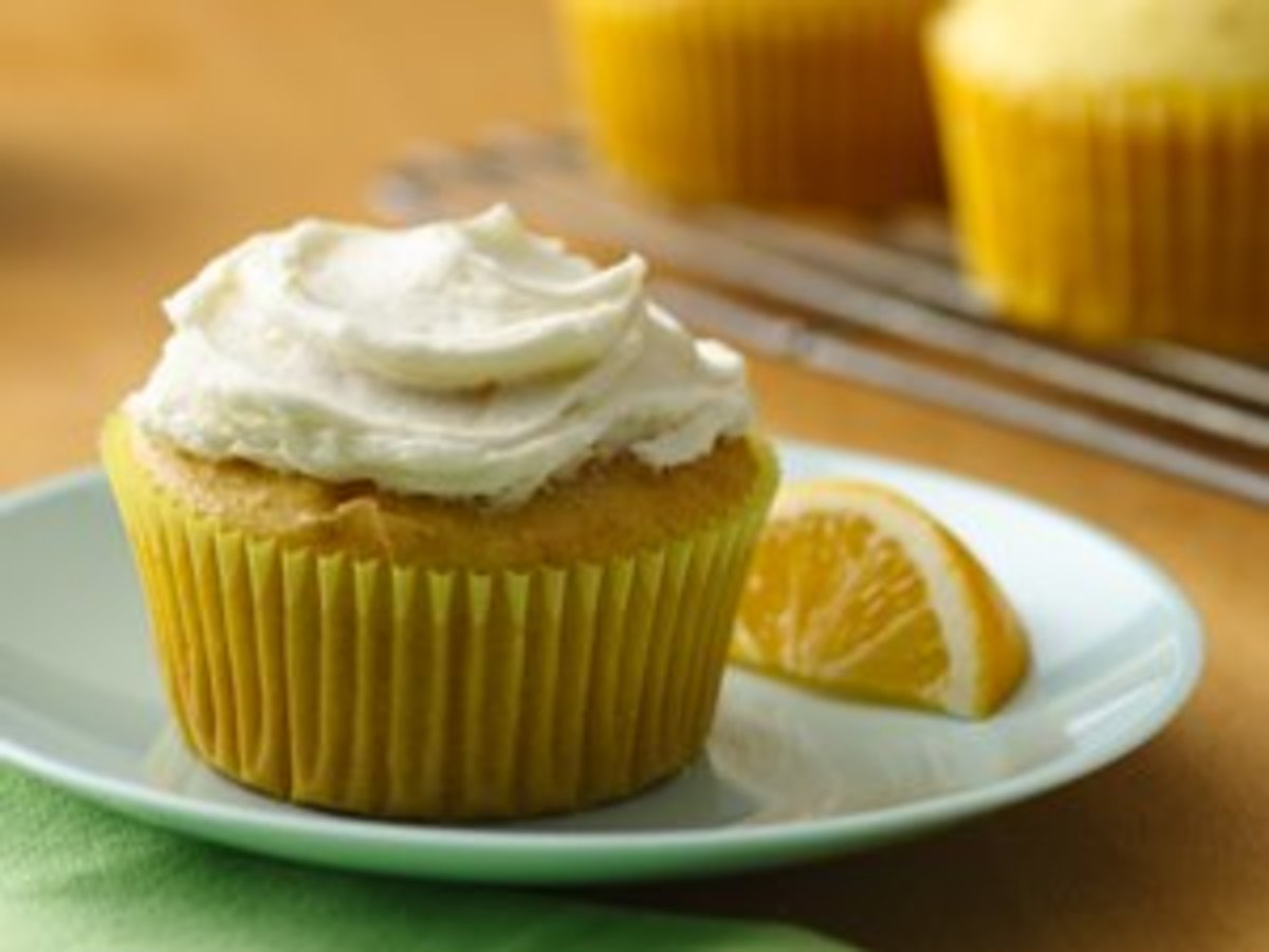 Gluten Free Lemon Lover's Cupcakes with Lemon Buttercream Frosting - Image from BettyCrocker.com