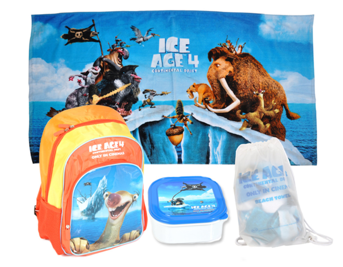 Ice Age Movie Prize Pack