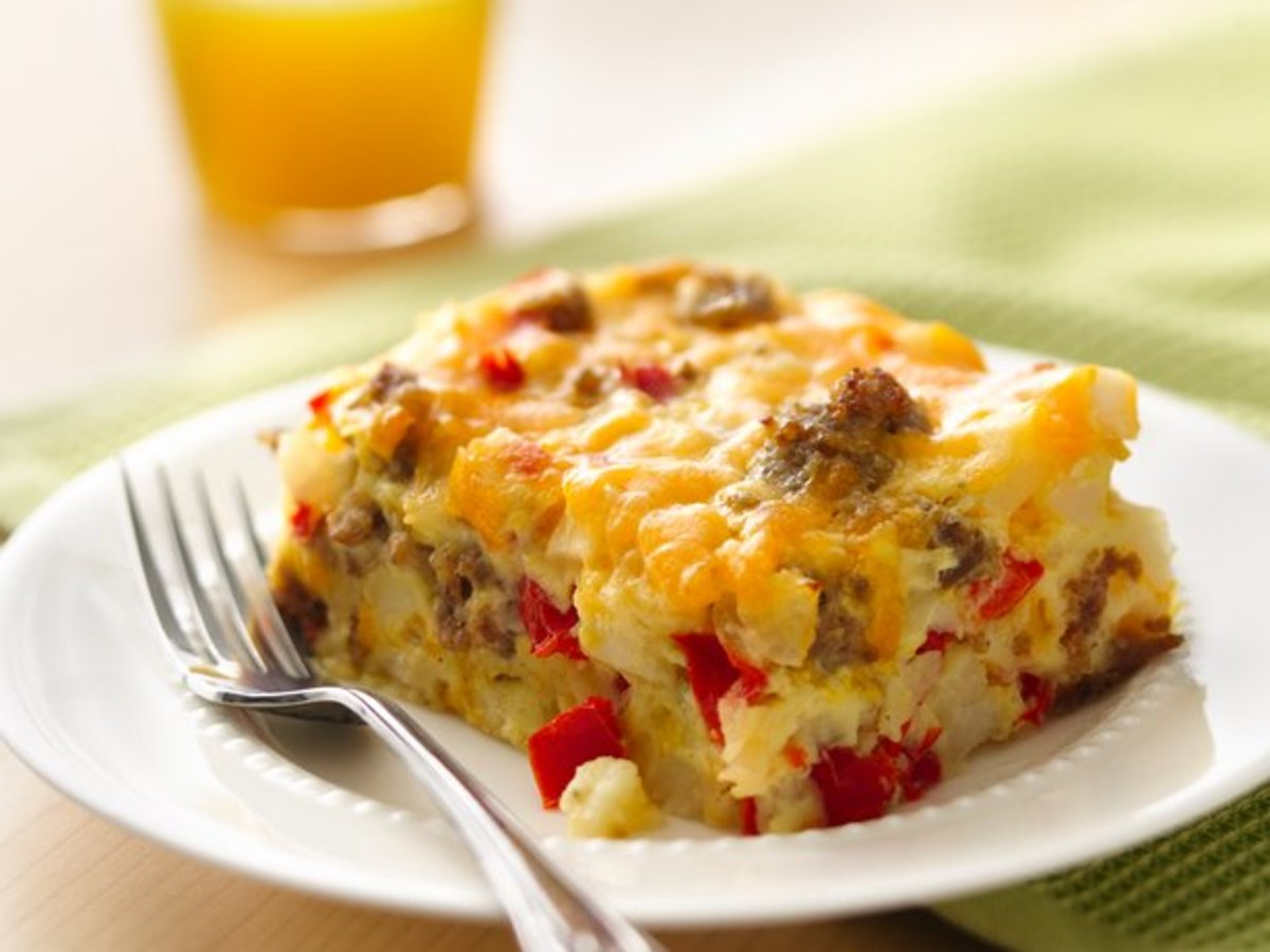 Gluten Free Impossibly Easy Breakfast Bake - Image from BettyCrocker.com