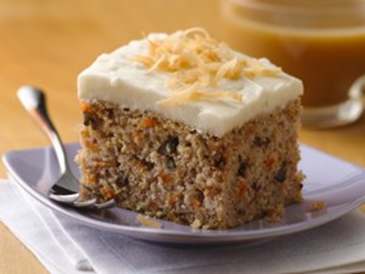 Gluten Free Carrot Cake - Image from BettyCrocker.com
