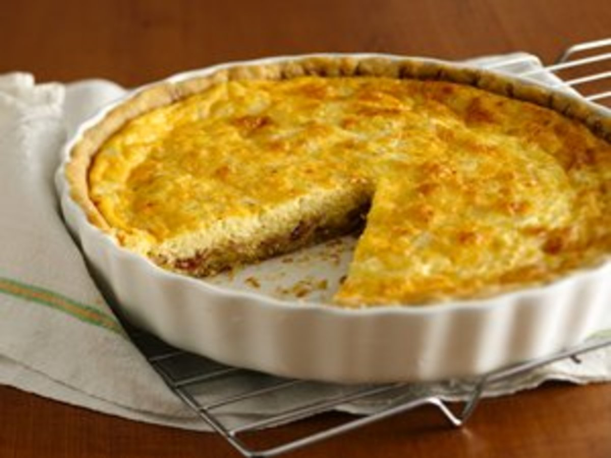 Gluten Free Quiche Lorraine - Image from BettyCrocker.com