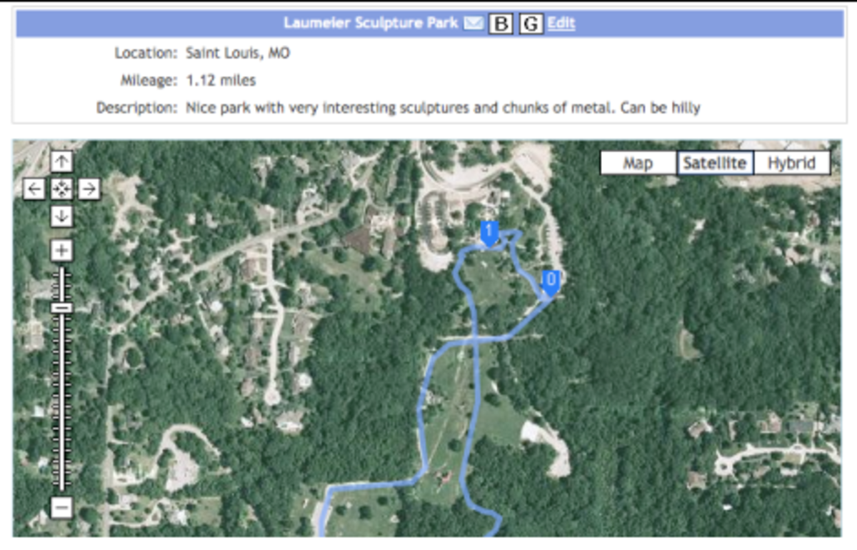 Log Your Run Route Saver