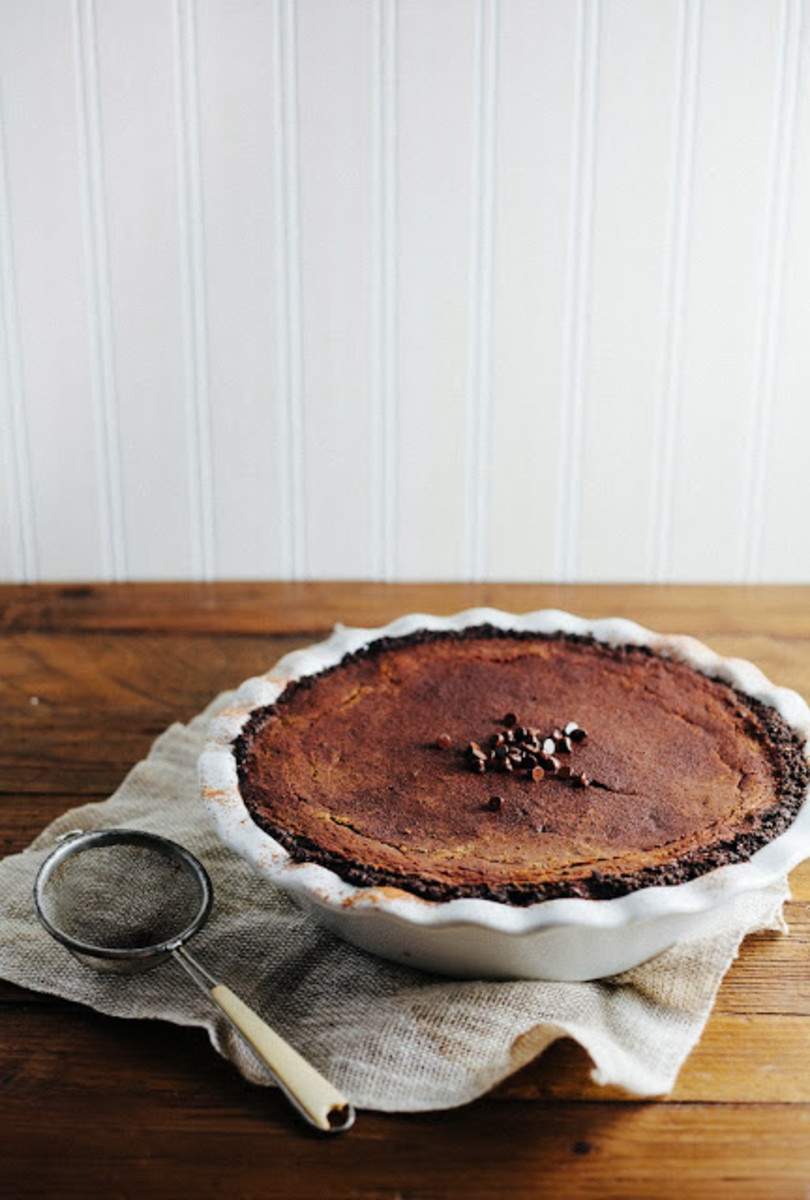 pumpkin chocolate pie