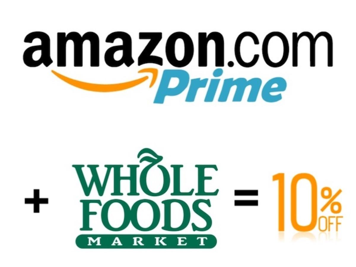 Amazon Prime Whole Foods Logos