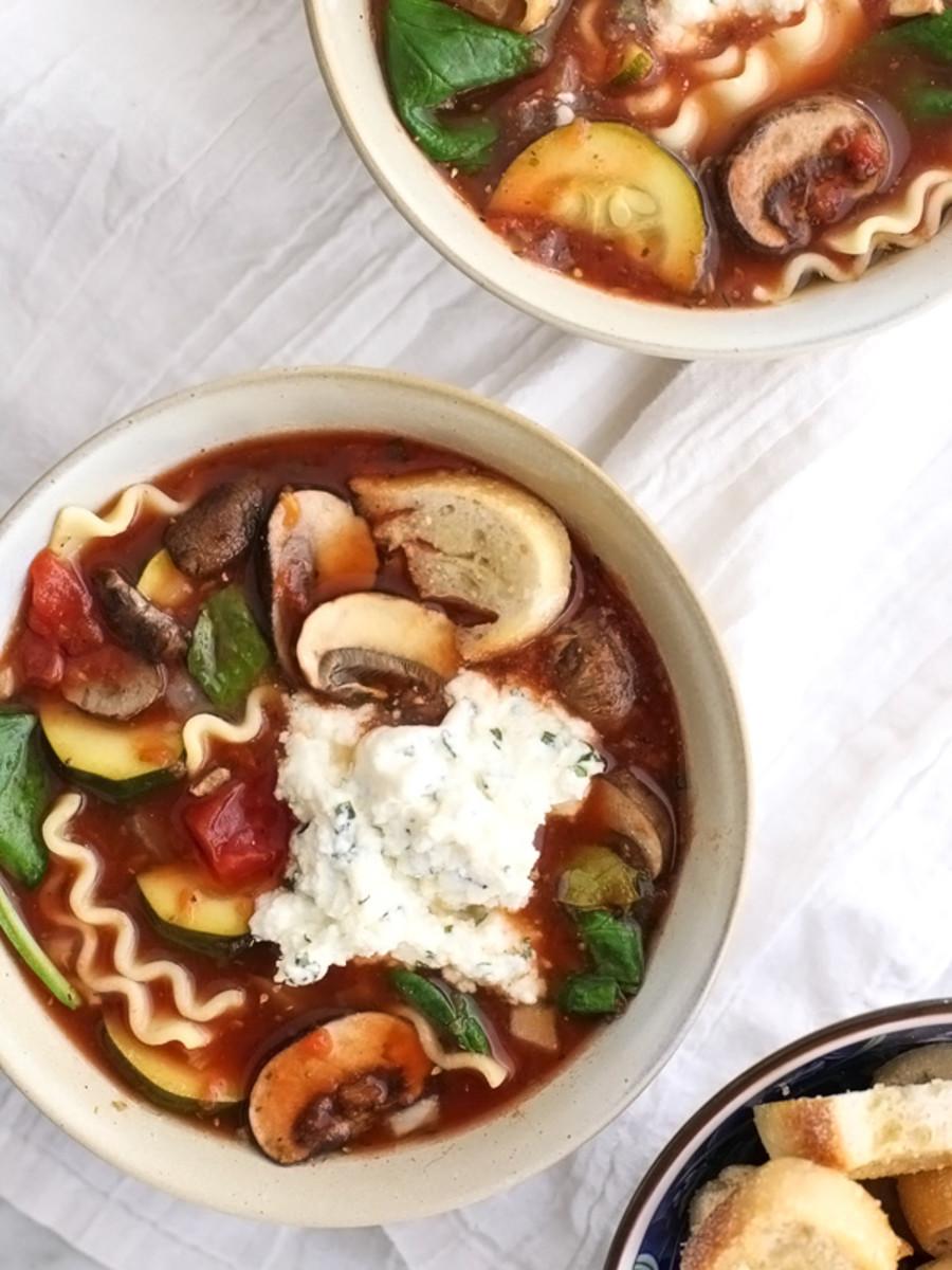 Slow Cooker Vegetarian Soup Recipes