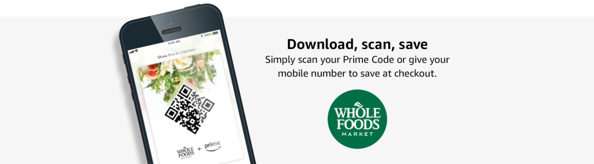 Amazon Prime Whole Foods Discount