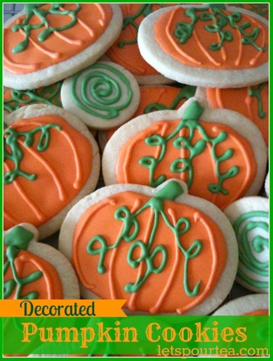 7 Pumpkin Cookies for Class Parties