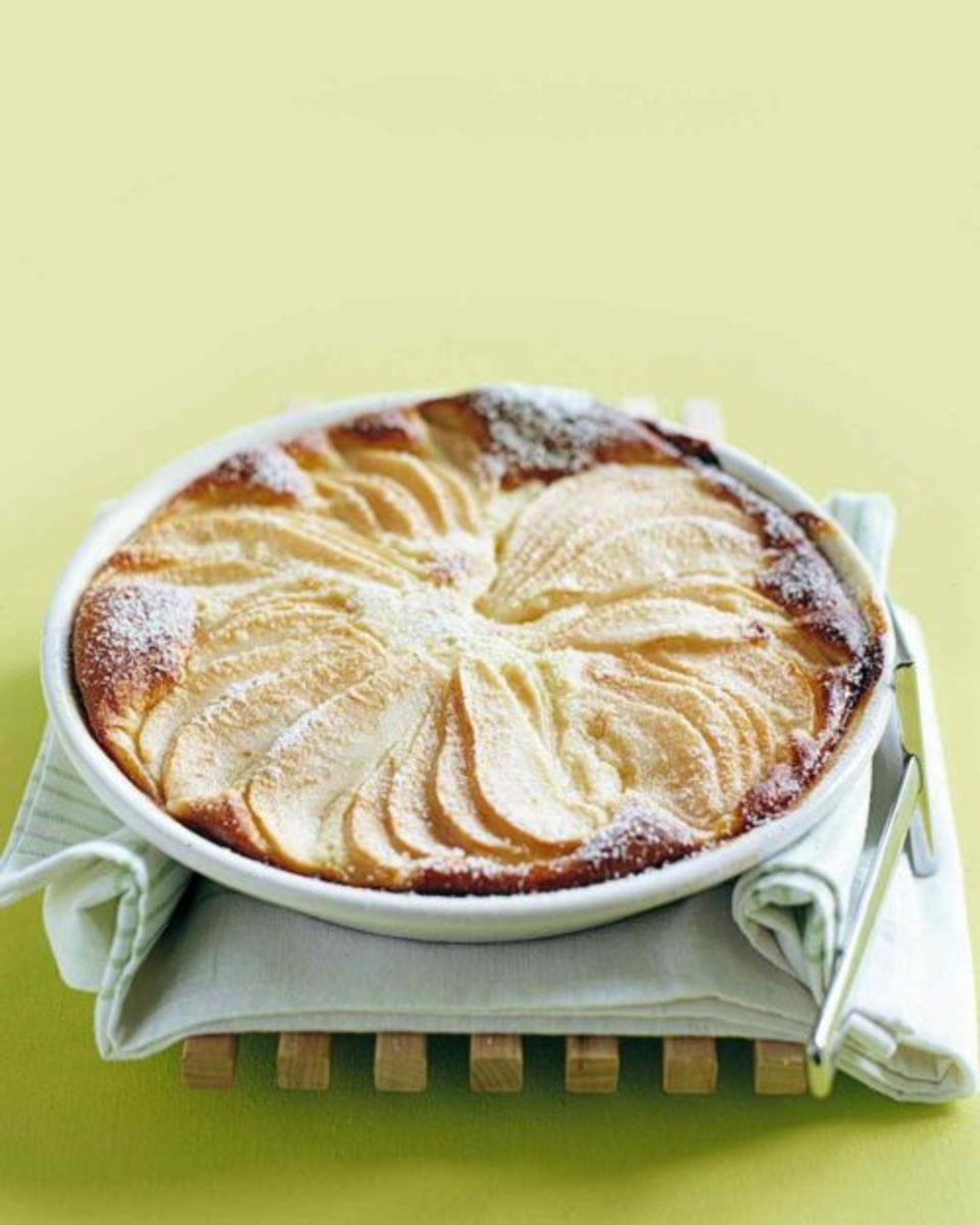 Fall Treats-Pear Custard