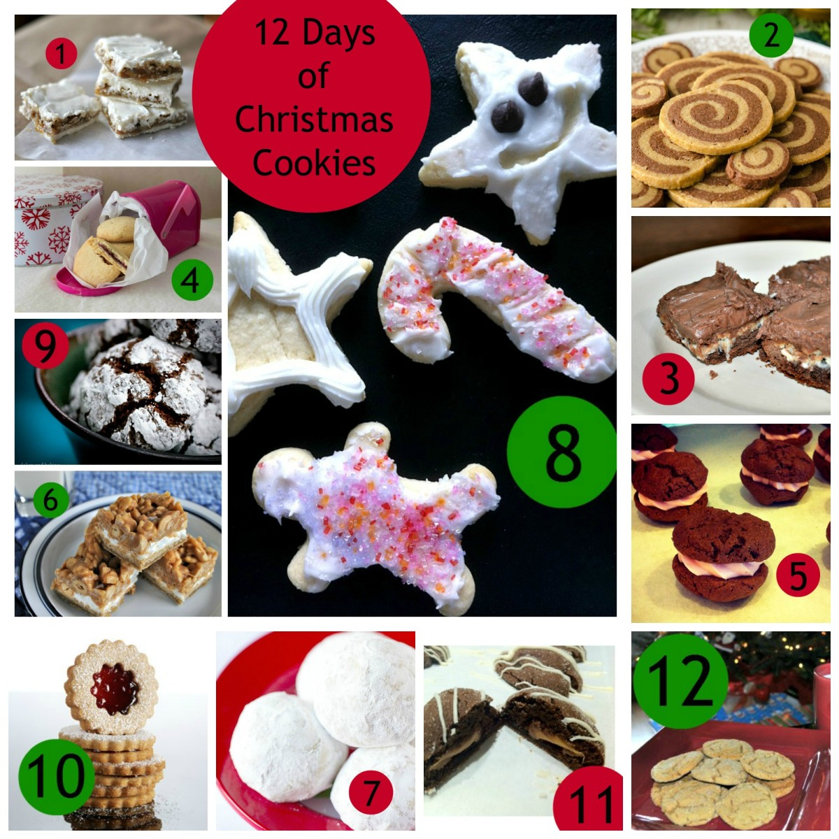 12 Days Of Christmas Cookies Today S Mama