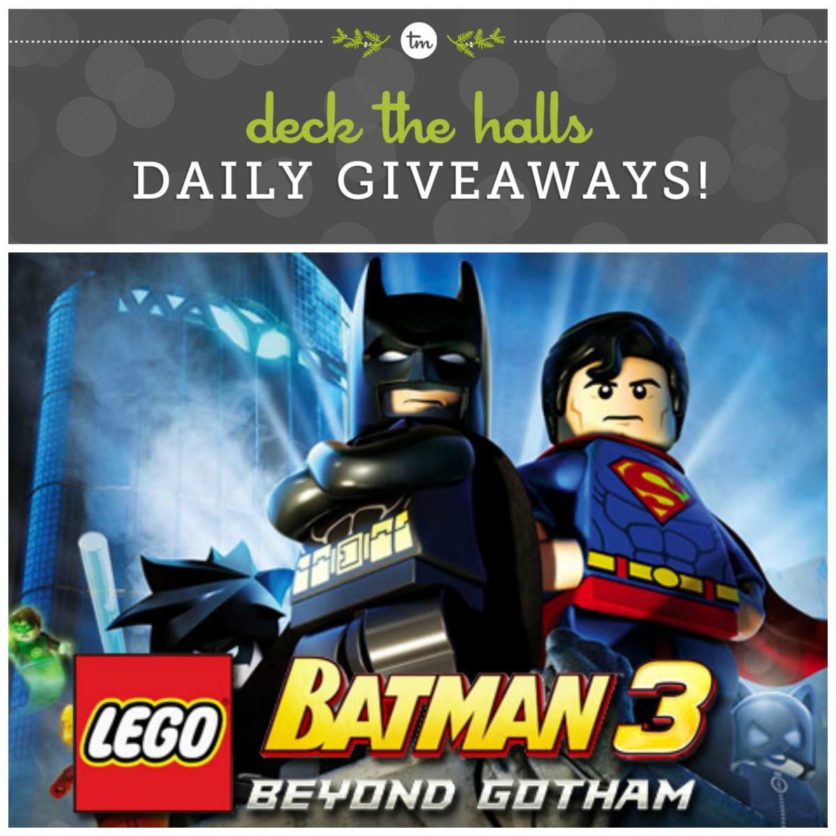 WIN Lego Batman 3 on TodaysMama.com!