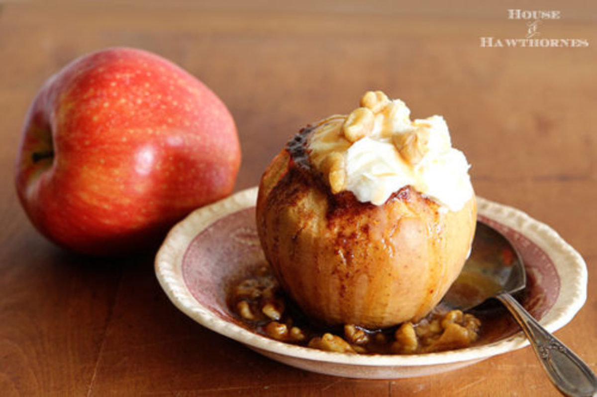Fall Treats-Baked Apples