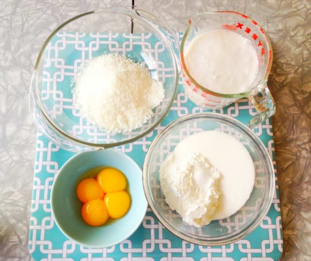 ingredients-for-coconut-cream-pie