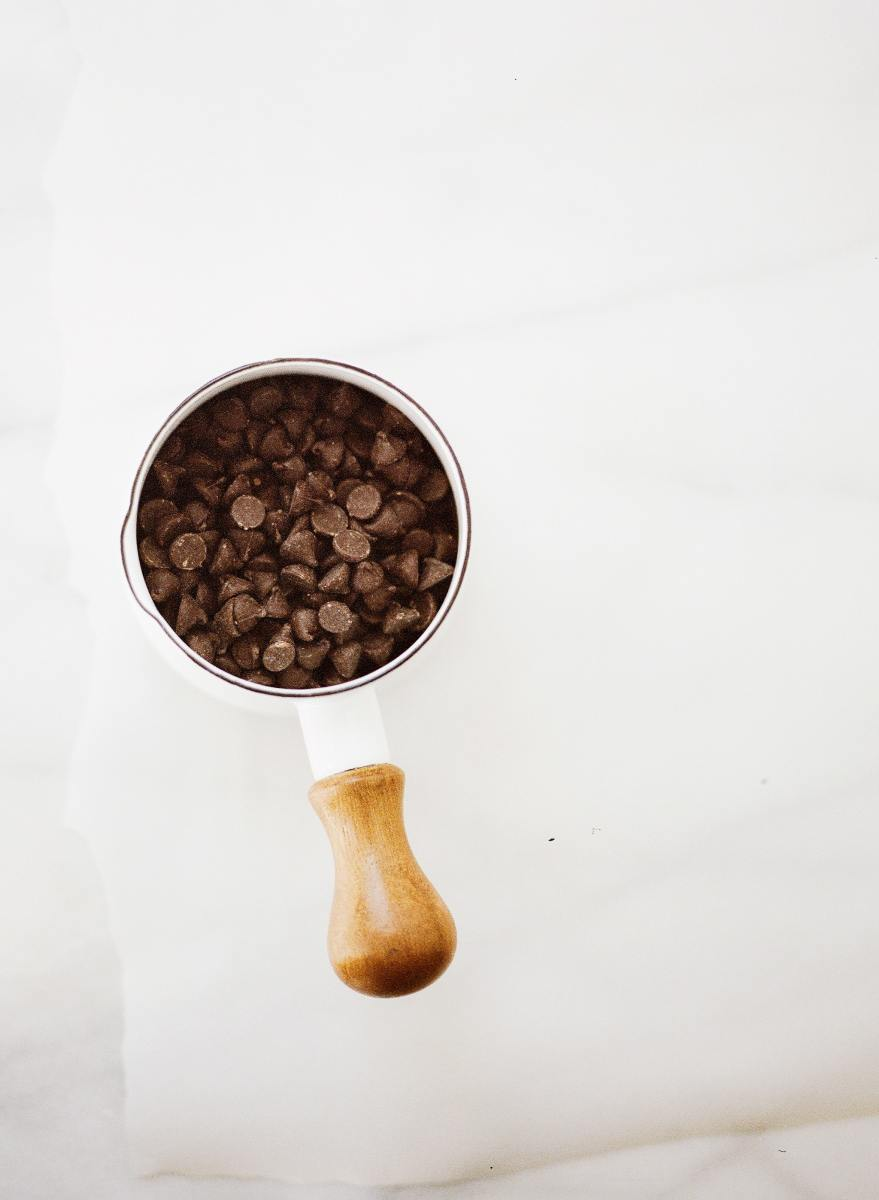 chocolate chips for pumpkin muffins
