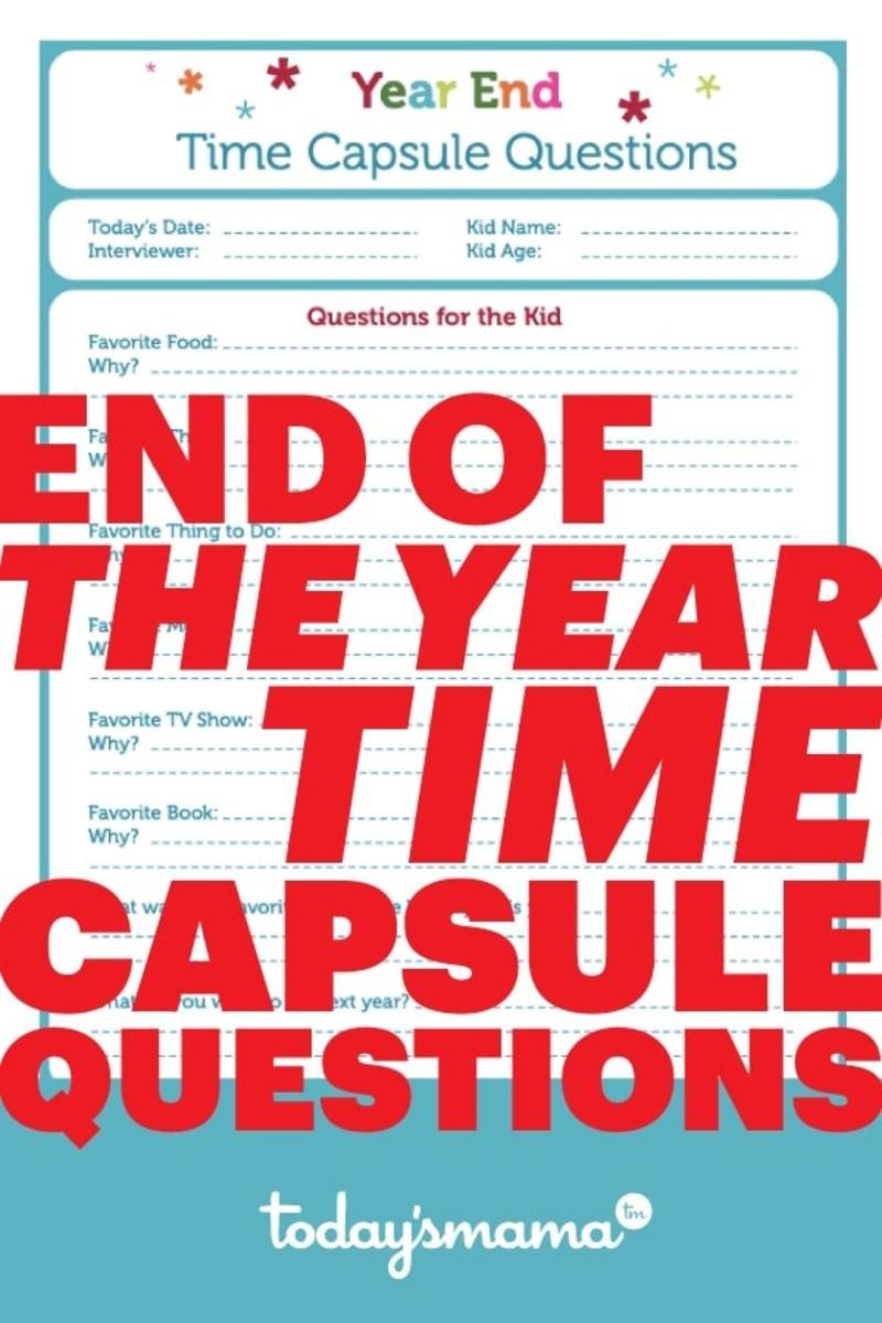 Time-Capsule-Questions