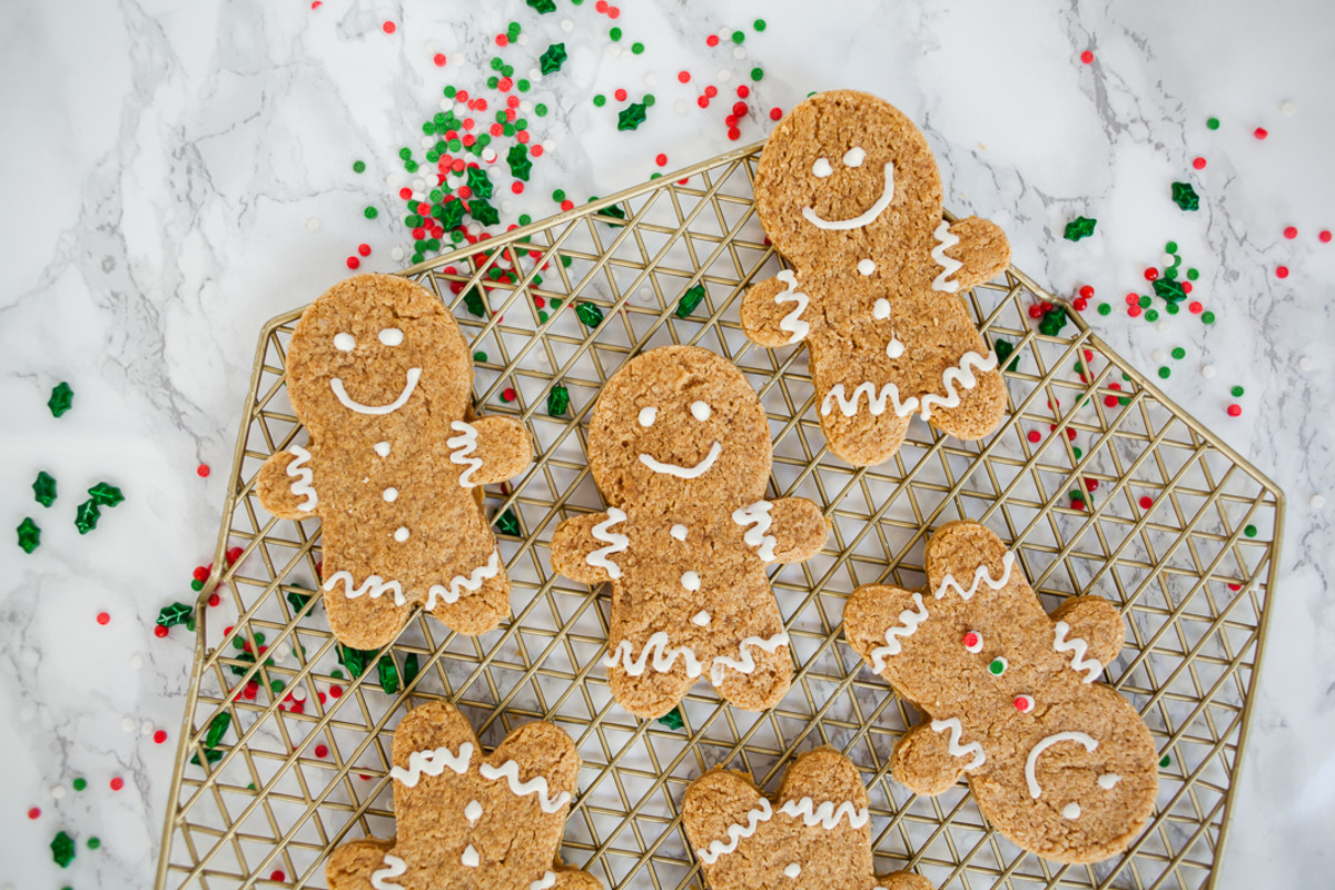 best gingerbread cake mix cookies