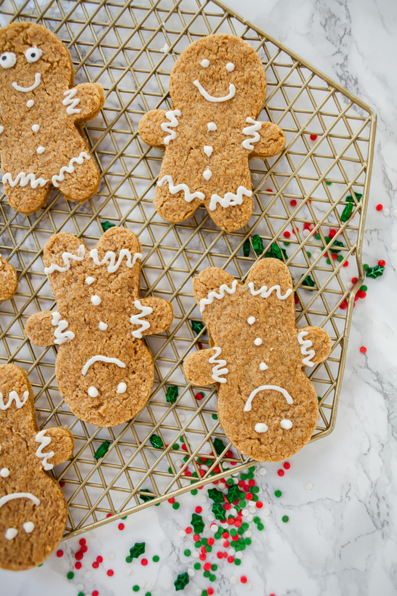 gingerbread cake mix cookies recipe