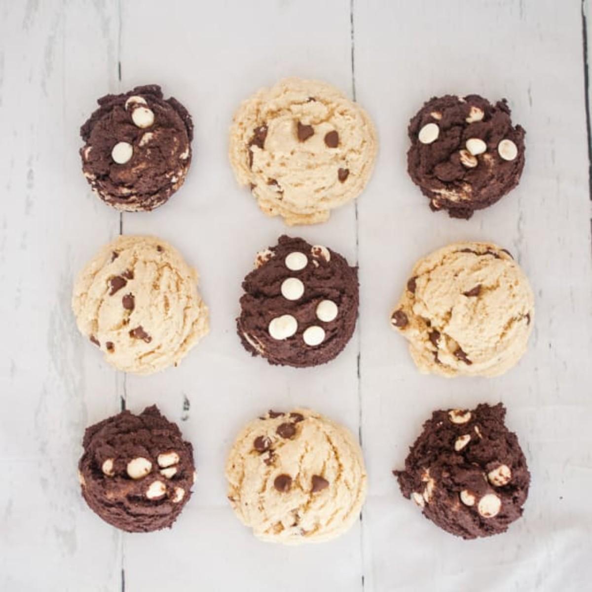 Gluten Free Cake Mix Cookies