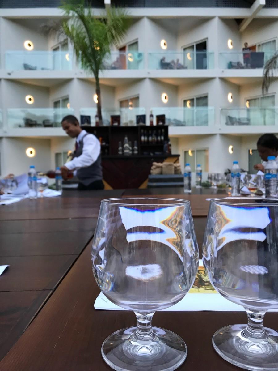 Hilton La Romana Dominican Republic Rum Tasting