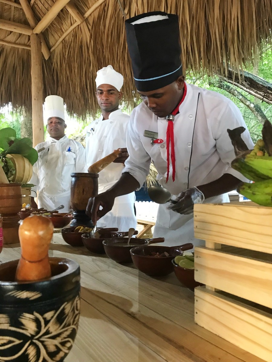 Hilton La Romana Adult Resort Food