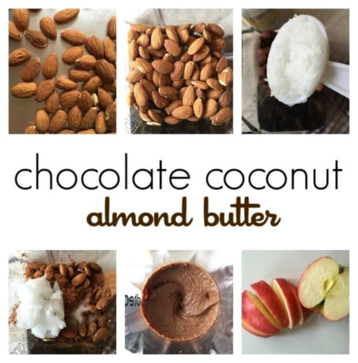 Chocolate Coconut Almond Butter Recipe