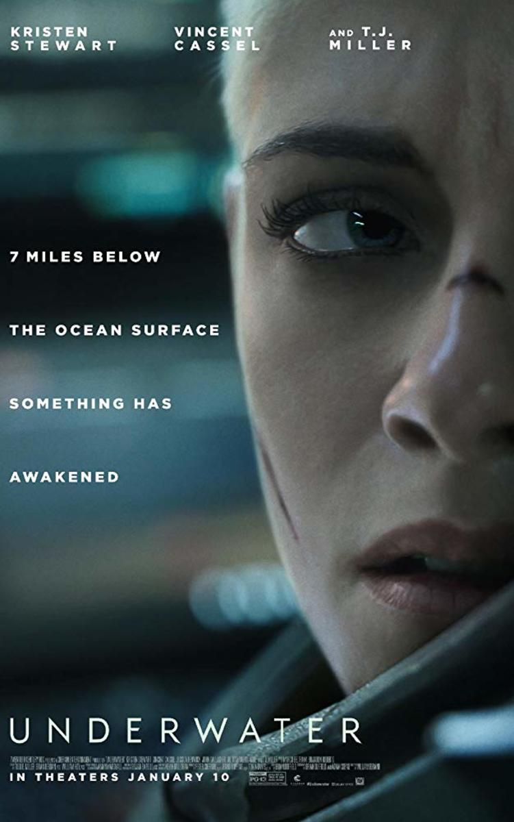 A crew of aquatic researchers work to get to safety after an earthquake devastates their subterranean laboratory. But the crew has more than the ocean seabed to fear.
