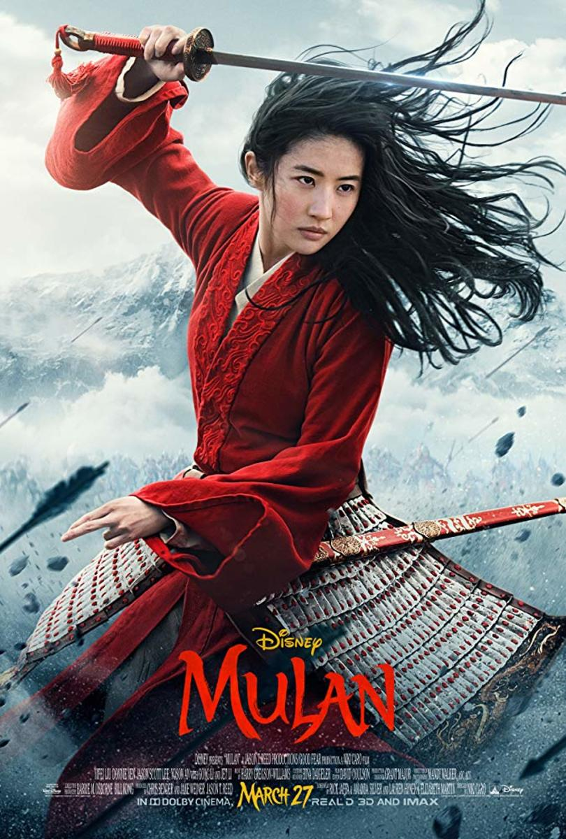 I think this goes without saying but...Mulan is alive-action feature film based on Disney's animated film 'Mulan.'A young Chinese maiden disguises herself as a male warrior in order to save her father.