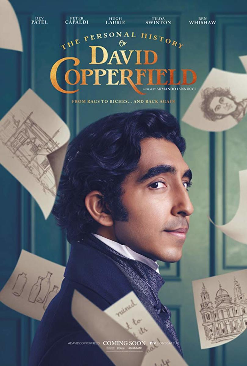 Bringing the pages of a Dickens classic to life, Dev Patel stars as David himself, struggling to become a man in a cruel world, with little money and few people to guide him.