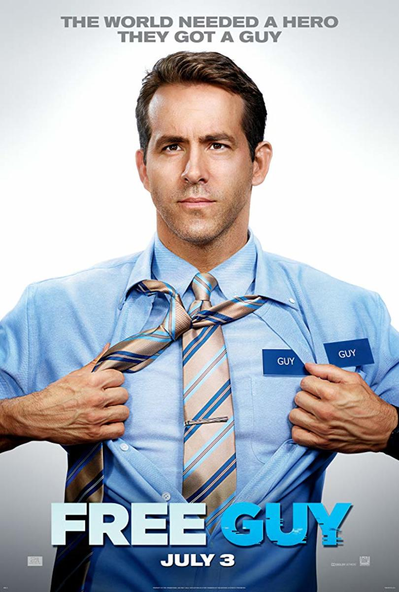 Ryan Reynolds is a bank teller who discovers that he's actually an NPC inside a brutal, open world video game.