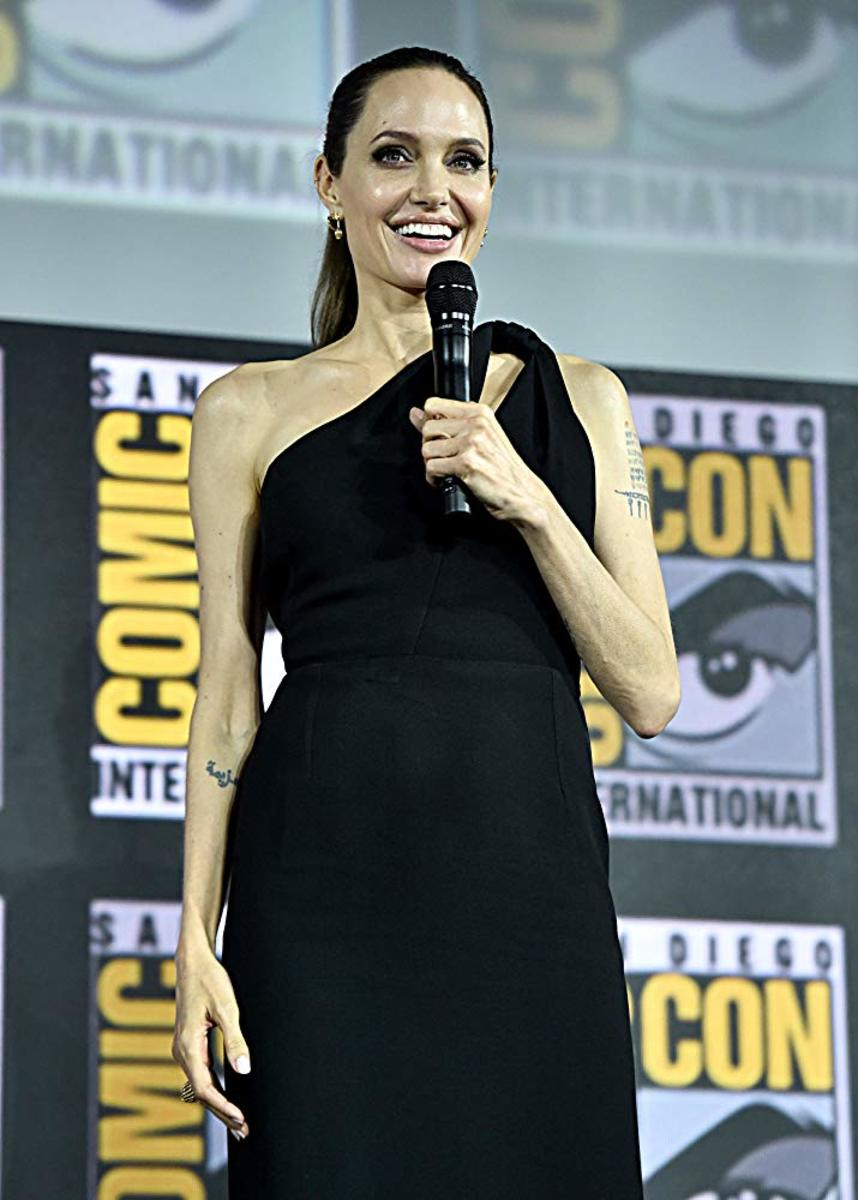 Angelina Jolie enters the Marvel Universe in The Eternals—MU's 25th movie about a race of immortal beings who lived on Earth and shaped its history and civilizations.