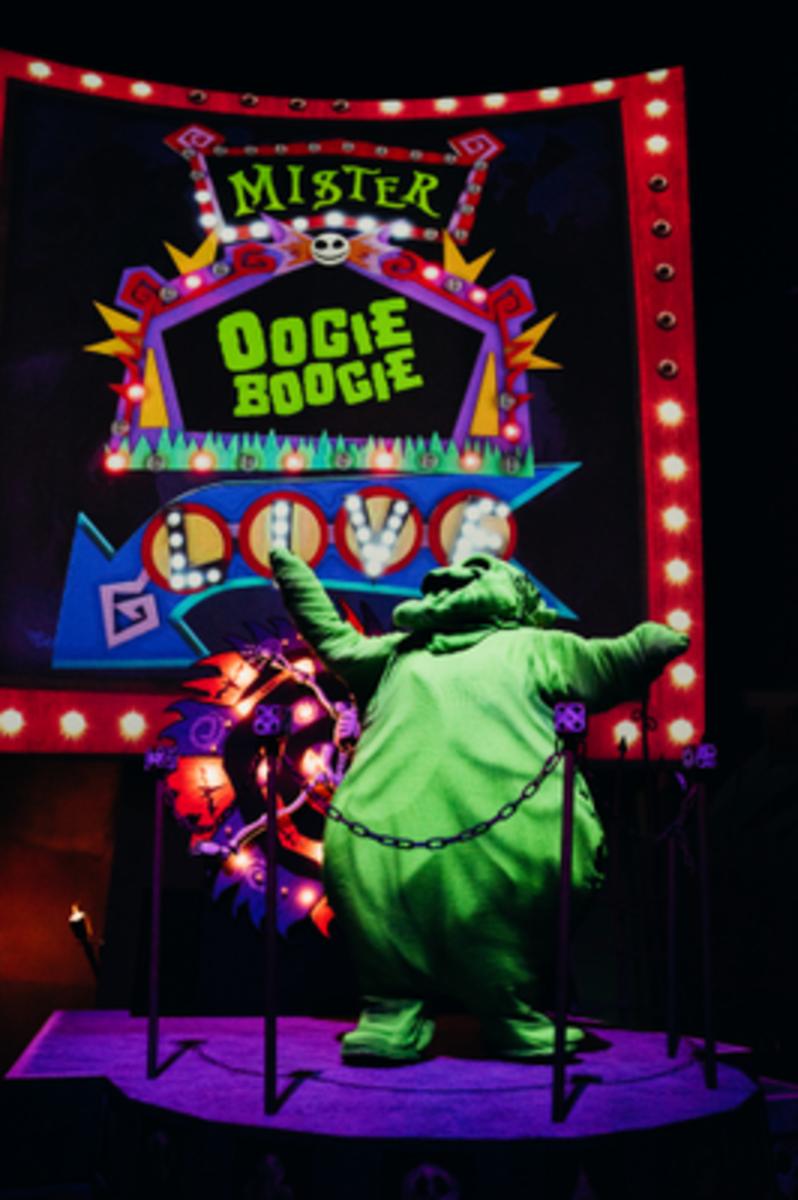 Disneyland oogie boogie halloween