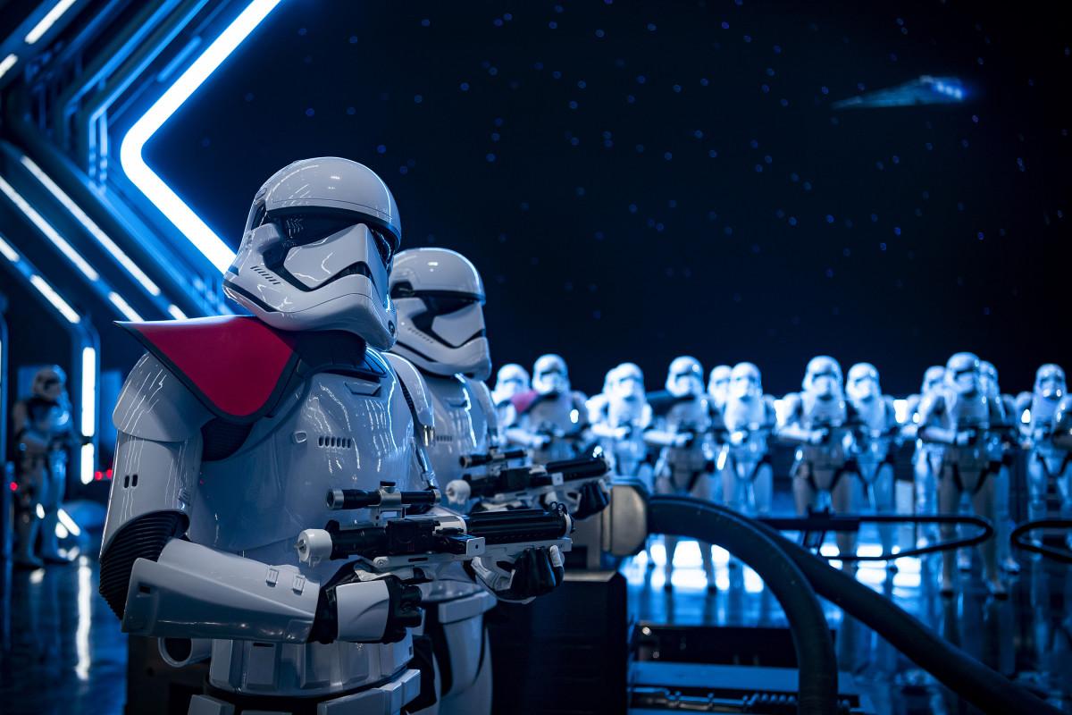 Star Wars Rise of the Resistance Disneyland