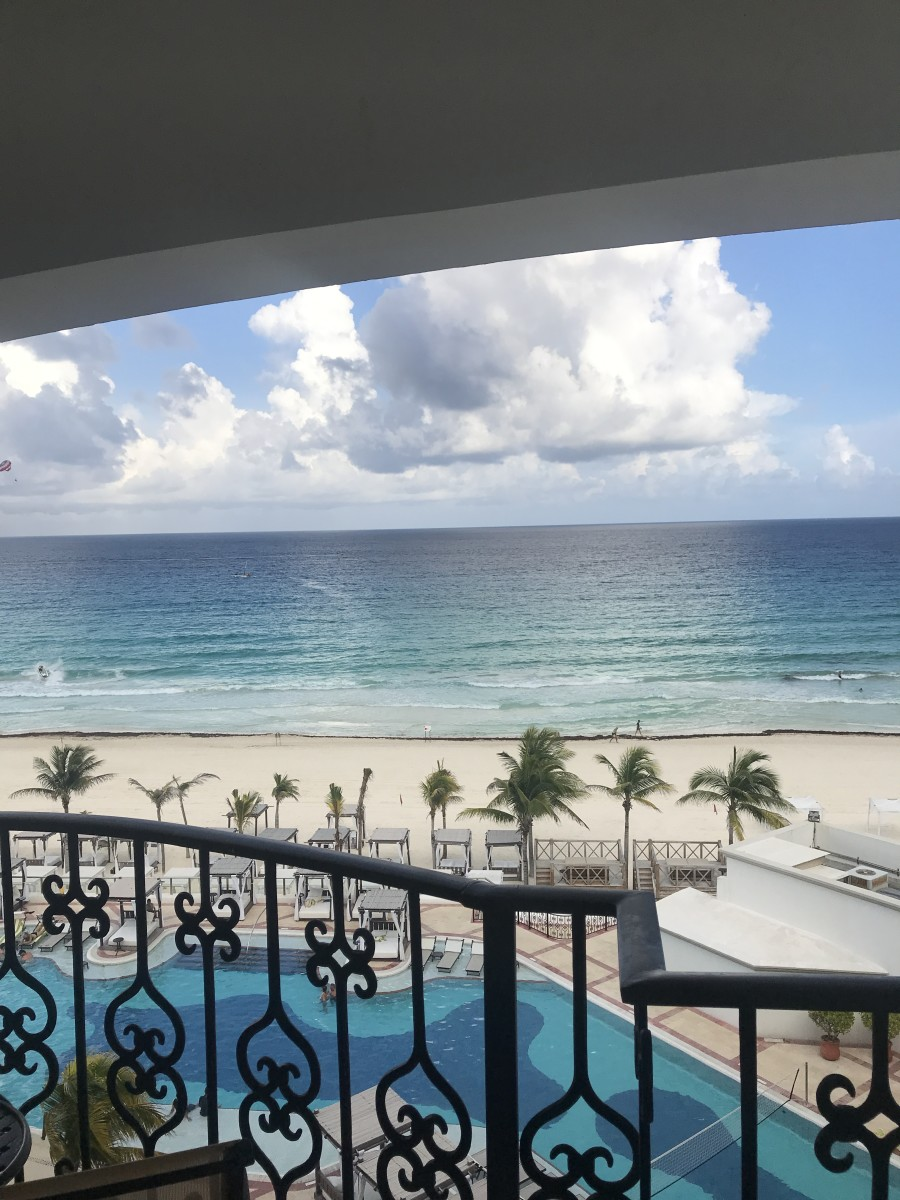 Mornings in Cancun from my balcony